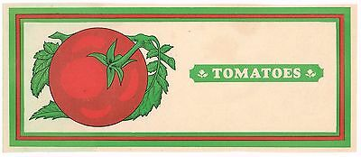 Fruit Crate Stock Label 1910S Typography Graphic Arts Vintage Delaware Tomatoes