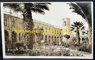 PERU Portal Flores Arequipa, Photographer Miguel Mancilla Real Photo PC 1920s