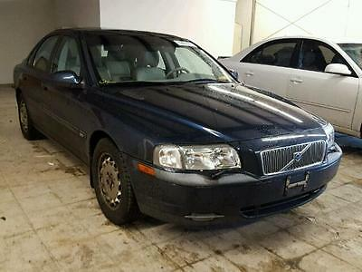 2001 Volvo S80  2001 VOLVO S80 OUTSIDE OF NORTH AMERICA ONLY