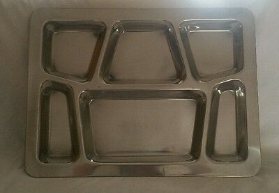 Winco mess tray stainless steel