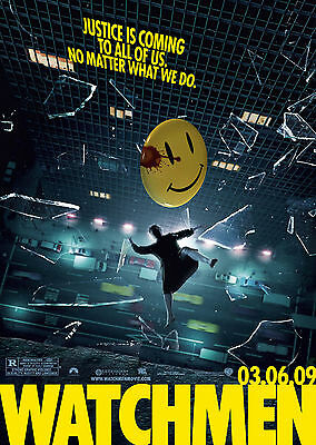 Watchmen (2009) V2 - A1/A2 POSTER **BUY ANY 2 AND GET 1 FREE OFFER**