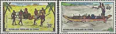 Timbres Transports Congo 373/4 ** lot 17967