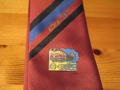Luxembourg Railways Tie & Blankenberge Express 15 year Badge