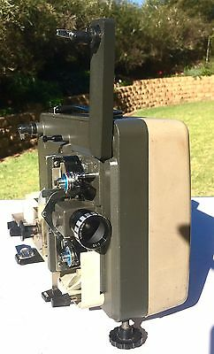 Vintage Collectable Hanimex LOADMATIC 820 DUAL EIGHT Film Projector