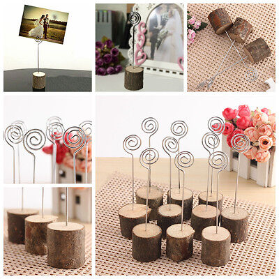 10pcs Wedding Table Numbers with Holder Base for Wedding Home Decoration