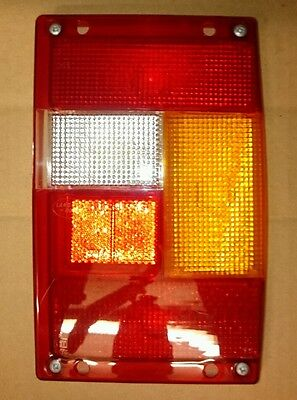 Genuine Late Range Rover Classic Offside Rear Drivers Side Light Lens With Fog