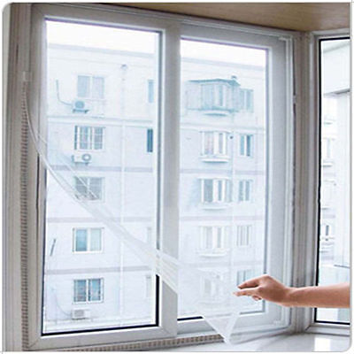 Anti Mosquito Net Bug Curtain Insect Window Mesh Screen Sticky Tape