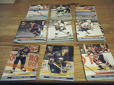 89   Fleer Ultra  1992 - 1993     American  Ice  Hockey Cards   Mint All Listed