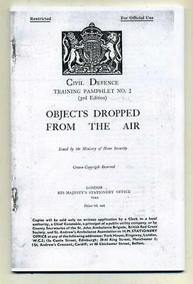 Ww2 Civil Defence Bomb Recognition Manual 1944