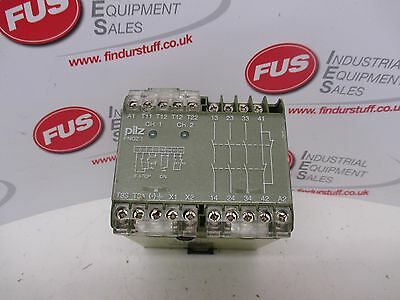 Pilz PNOZ 1 24VDC 3S 10 Safety Relay - Used Condition