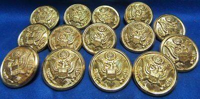 WWII British Made Army Buttons Lot Of 14 by Luxenberg