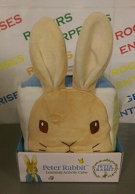 Beatrix Potter Peter Rabbit Baby Learning Activity Cube NEW & Boxed