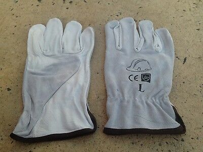 leather large size riggers gloves 6 brand new pairs