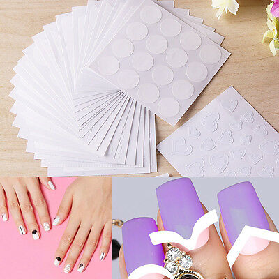 Pack of 24 X 3D Nail Art Transfer Stickers Design Manicure Decal Decoration Tips