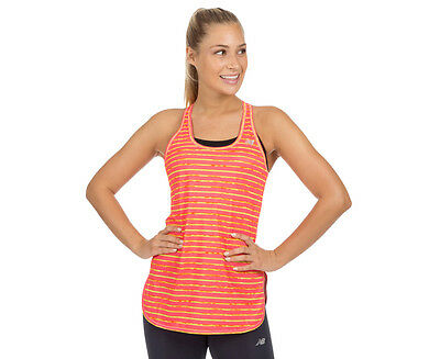 New Balance Women's Accelerate Graphic Tunic - Guava/Firefly
