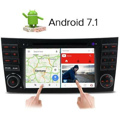 Android 7.1 DAB+ DVD GPS Sat nav for Mercedes Benz E G CLS Class W211 W219 W463
