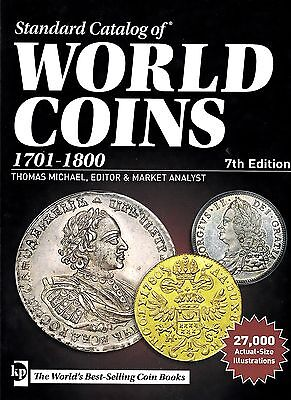LANZ Thomas Michael Standard Catalog of World Coins, 1701-1800 7th Edition ~C1