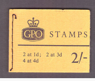 Great Britain GB 1965 Oct Booklet 2s. mint panes stamps SG N22 ordinary