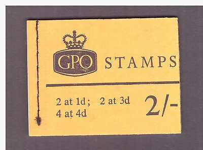 Great Britain GB 1968 July Booklet 2s. mint panes stamps SG NP28