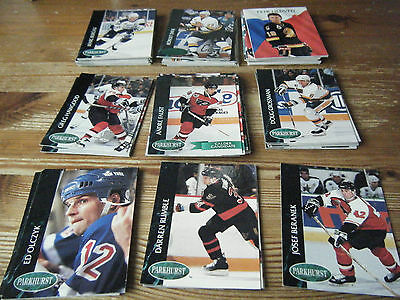 109   Parkhurst  1992 - 1993   American  Ice  Hockey Cards   Mint    All Listed