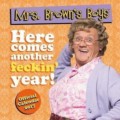 MRS BROWN'S BOYS 2017 Official Licensed New CALENDAR - Large 30cm SQUARE