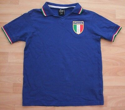 Italy 1982 Toffs Retro Football Soccer Shirt Jersey Small / Medium Adult