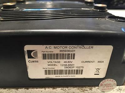 Curtis 1238-6501 AC Motor Controller  48V - 80V 550A Maximum  Pulsed AC Controll
