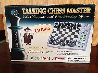 Talking Chess Master Electronic Chess Computer
