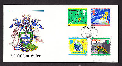 1992 Green Issue Set Of 4 On Bradbury Limited Edition Official Fdc
