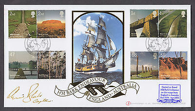 2005 Heritage Sites Set Of 8 On Signed Buckingham Official Fdc