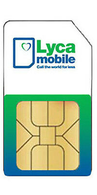 Lycatel Pay As You Go Sim Card Pack