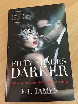 Brand New Fifty Shades Darker by E.L. James Paperback Book