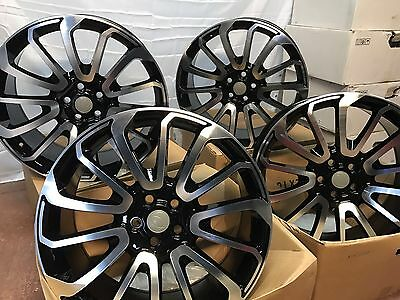 Range Rover Sport Vogue Discovery set of 4 22 inch Alloy Wheels