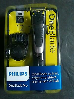 Phillips OneBlade Pro - Trim, Edge & Shave - Wet and Dry