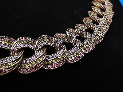 Heidi Daus Magnificent Swirl Curb-Link Necklace
