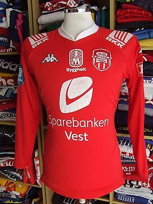 Centenary Signed Shirt SK Brann Bergen 2008 (L) Home Long Sleeve Norway Jersey