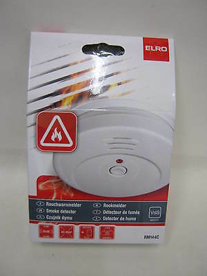 New Elro Smoke Fire Alarm Detector General Purpose RM144C