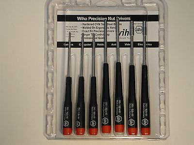 Wiha 7 Pc Metric Precision Nut Driver Set 26592