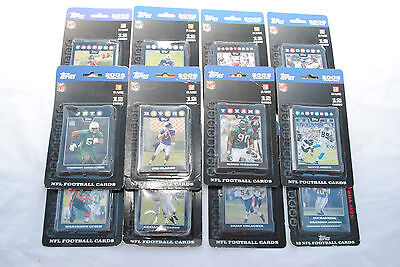 2008 Topps NFL Football Team Sets X 12