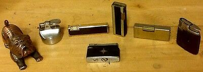 A Set Of Lighters.