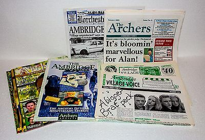 """""""The Archers"""" Memorabilia 1995-2005, Newspapers & Magazines For The Fans"""