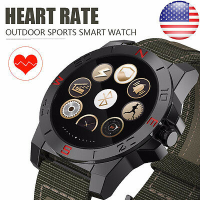 Waterproof N10 Heart Rate Smart Watch Bluetooth Outdoor For IOS Android Iphone