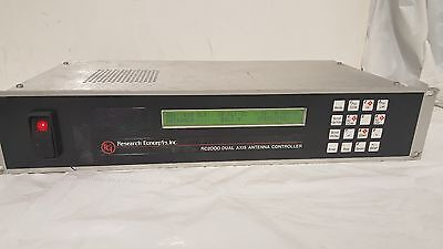 Research Concepts, Inc. - RC2000A Dual Axis Antenna Controller -