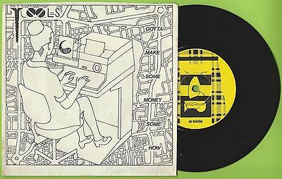 """The Tools - Gotta Make Some Money Somehow - 7"""" Single Picture Sleeve - Slick 2"""