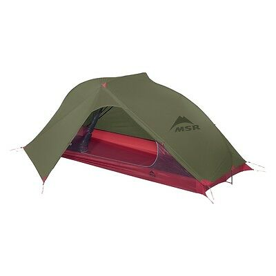 MSR Carbon Reflex 1 Tent Green New Model lightweight Compact Motorcycle Camping