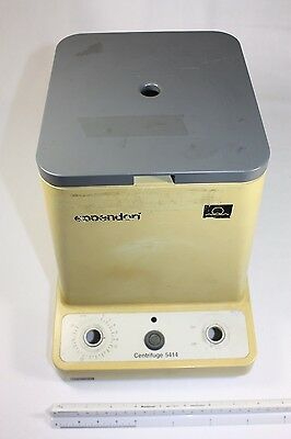 Eppendorf 5414 Centrifuge Parts - Upper Case Plastic with hinged lid