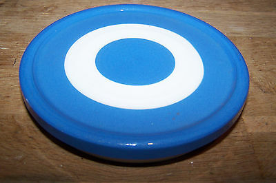 T.g.green Cornishware Flat Fridge Pot Lid.