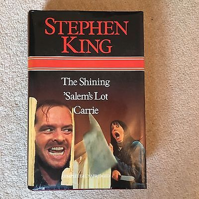 The Shining, Salem's Lot and Carrie, King, Stephen., Good Condition Book