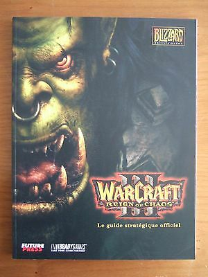 Guide Officiel Fr Warcraft Iii 3 Reign Of Chaos Pc Comme Neuf