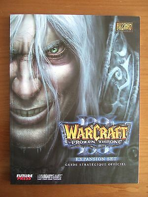 Guide Officiel Fr Warcraft Iii 3 The Frozen Throne Pc Comme Neuf